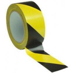 Páska lepící výstražná žluto-černá 5cm x 66m