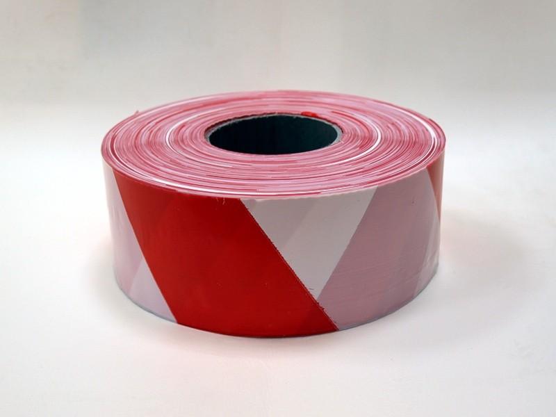 Páska bezpečnostní červeno-bílá 500m