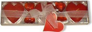 Svíčkový set  Valentýn