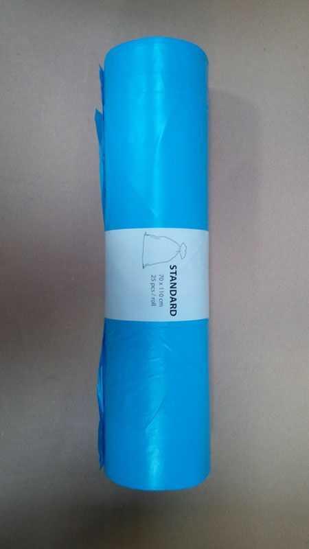 Pytle na odpad 120l/25ks 70x110 modré Alufix 80mi